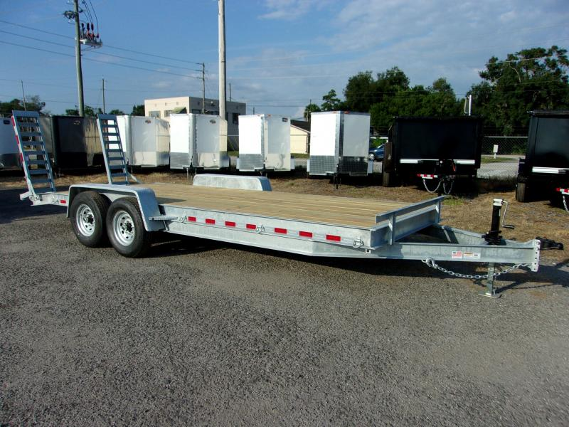 "2019 AMP 82""X20' 7 ton Equipment Trailer *GALVANIZED*"
