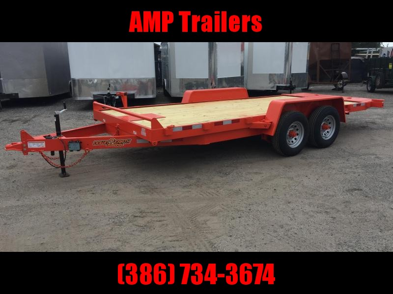 2020 Down 2 Earth Trailers 82X18 TILT