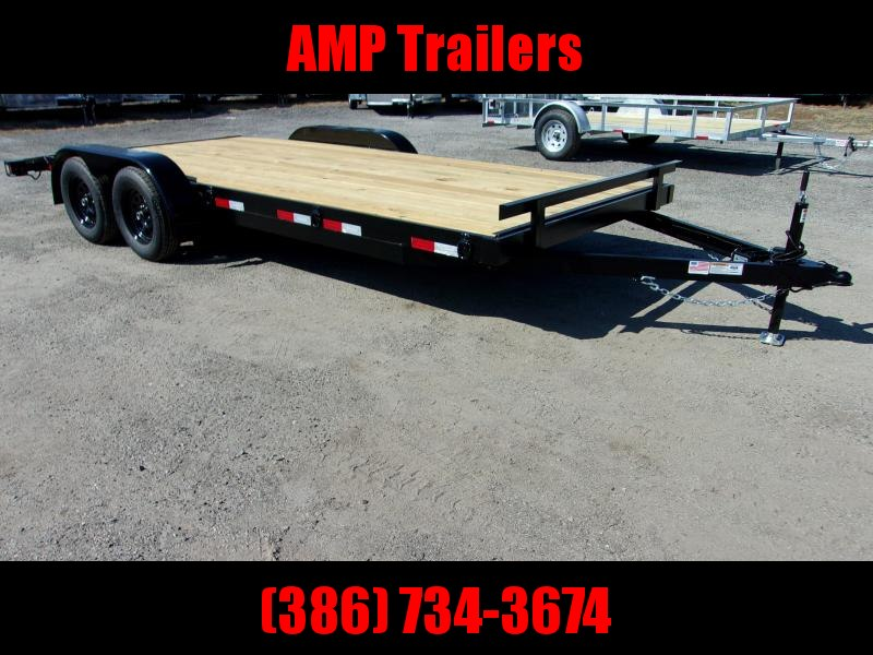 2019 AMP Trailers 82X18 CAR HAULER Car / Racing Trailer