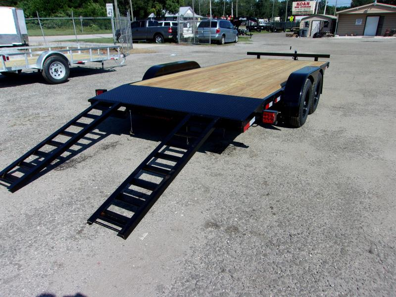2020 AMP Trailers 82X18 CAR HAULER Car / Racing Trailer