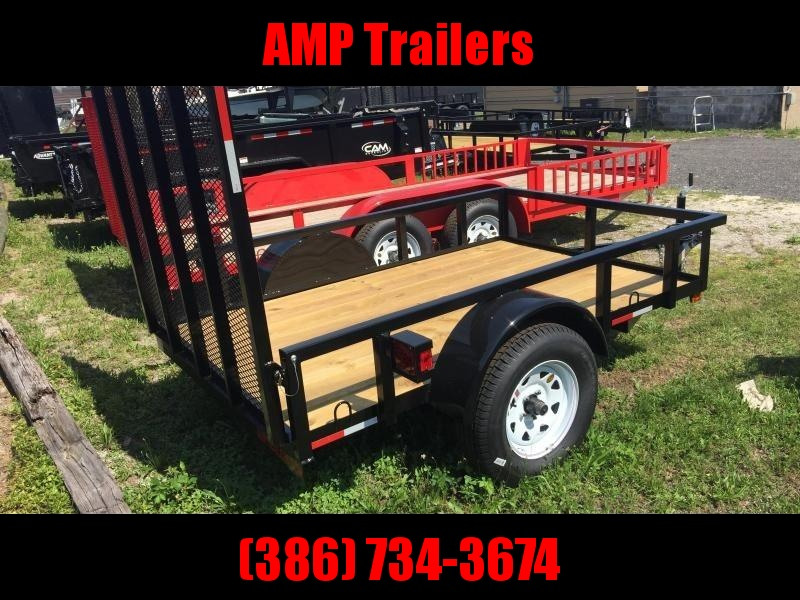 2019 AMP Trailers 5x10 Single Axle Utility Trailer