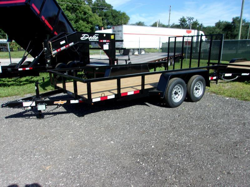 "2020 Down 2 Earth Trailers 76""x16' Utility Trailer"