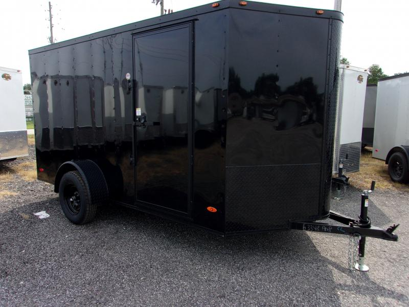 2020 6x12 ADMIRAL SERIES Cargo Trailer (Blacked Out Edition)