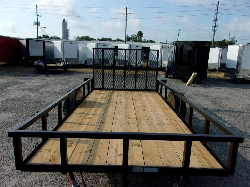 "2020 Down to Earth 76""x14' Single Axle Utility Trailer *DOVETAIL"
