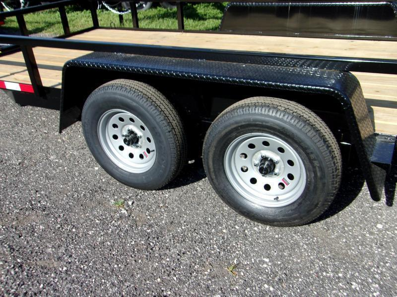 "2020 Down 2 Earth Trailers 82""x16' Utility Trailer"
