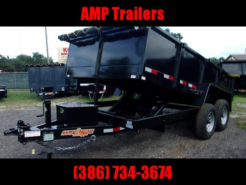 2019 Down 2 Earth Trailers 7X14 Dump Trailer