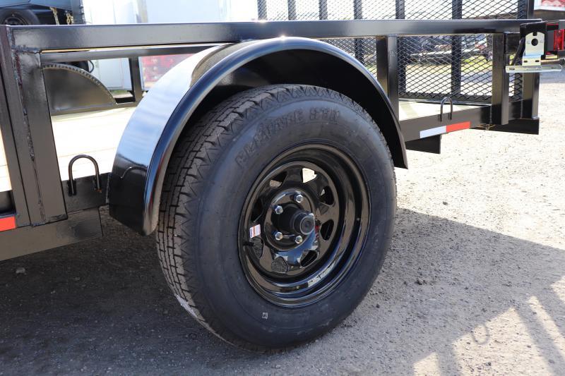 "2020 AMP Trailers 82""X12' ATV TRAILER Utility Trailer"