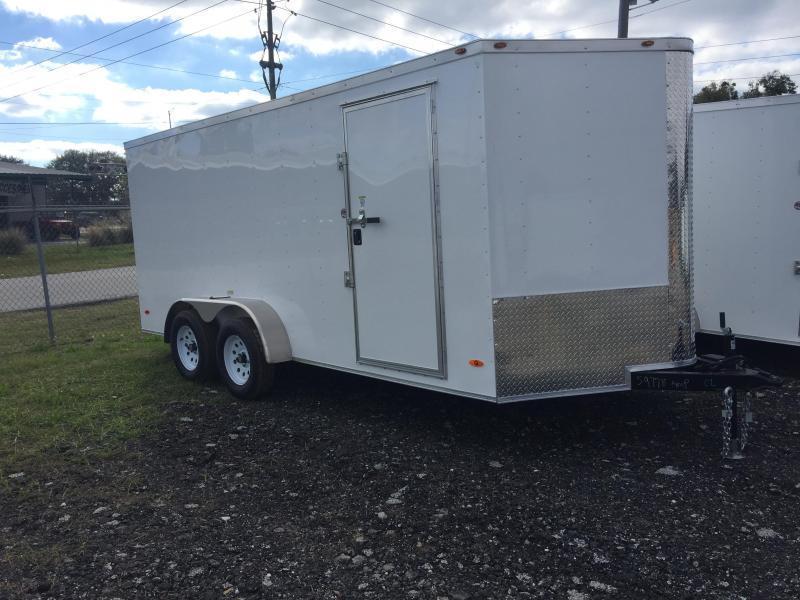 2020 7X16 TANDEM AXLE Cargo Trailer