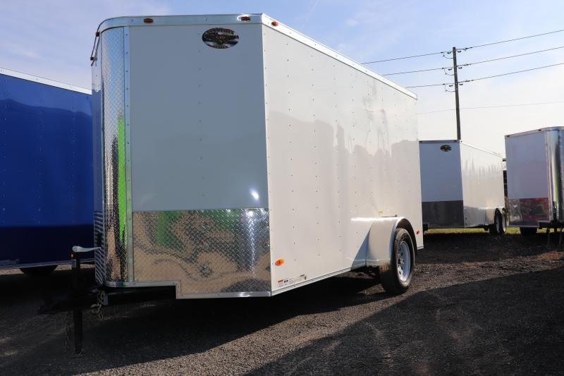 2020 6X12  CARGO TRAILER W/ DOUBLE REAR DOORS