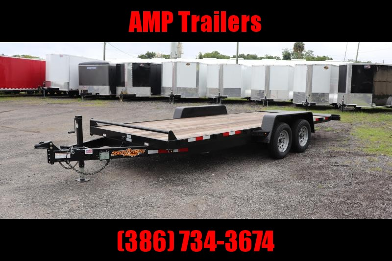 2020 Down 2 Earth Trailers D2E 82x20 3.5 Ton TILT Trailer Equipment Trailer
