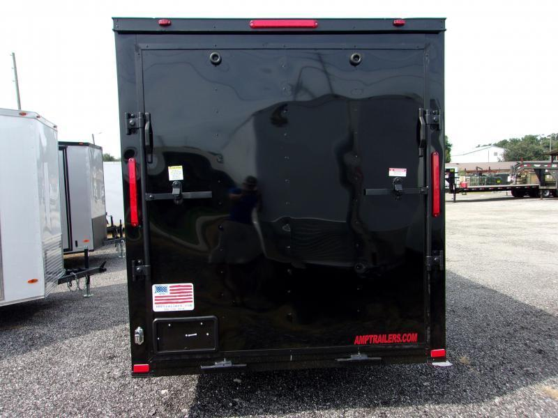 2020 6x12 COMMANDER SERIES Cargo Trailer (Blacked Out Edition)