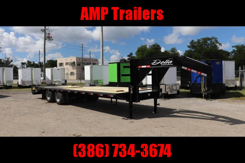 "2020 28'x102"" 10 ton Gooseneck Equipment Trailer"