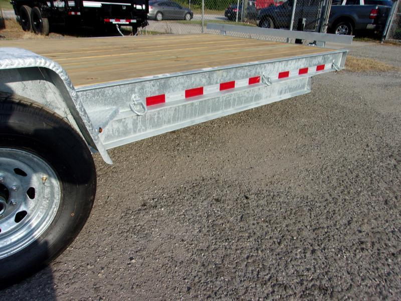 "2020 AMP 82""X20' 7 ton Equipment Trailer *GALVANIZED*"