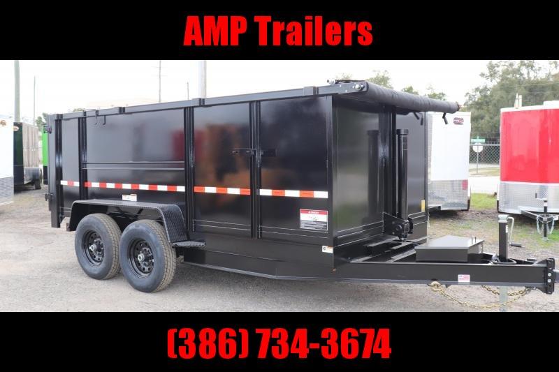 2020 AMP Trailers 7x14 E-DUMP Dump Trailer
