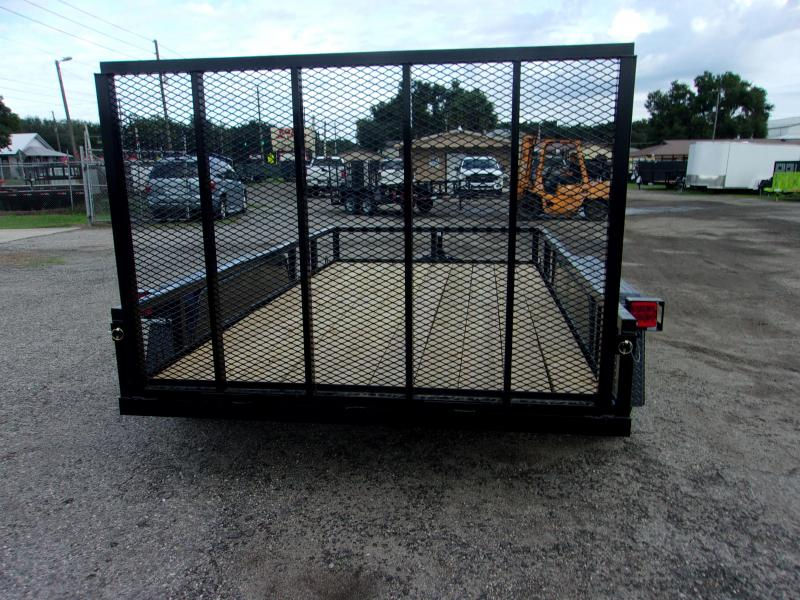 2019 AMP Trailers TANDEM AXLE 76X12 Utility Trailer