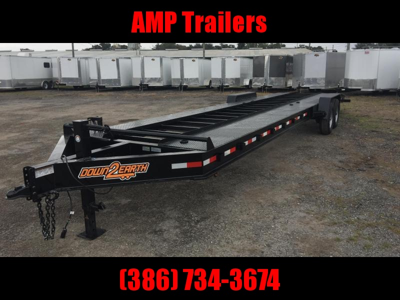 2020 Down 2 Earth Trailers 82x34 Car / Racing Trailer