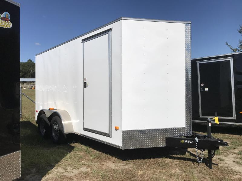 2020 Covered Wagon Trailers 7X14TA S.S. EXTRA HEIGHT Enclosed Cargo Trailer