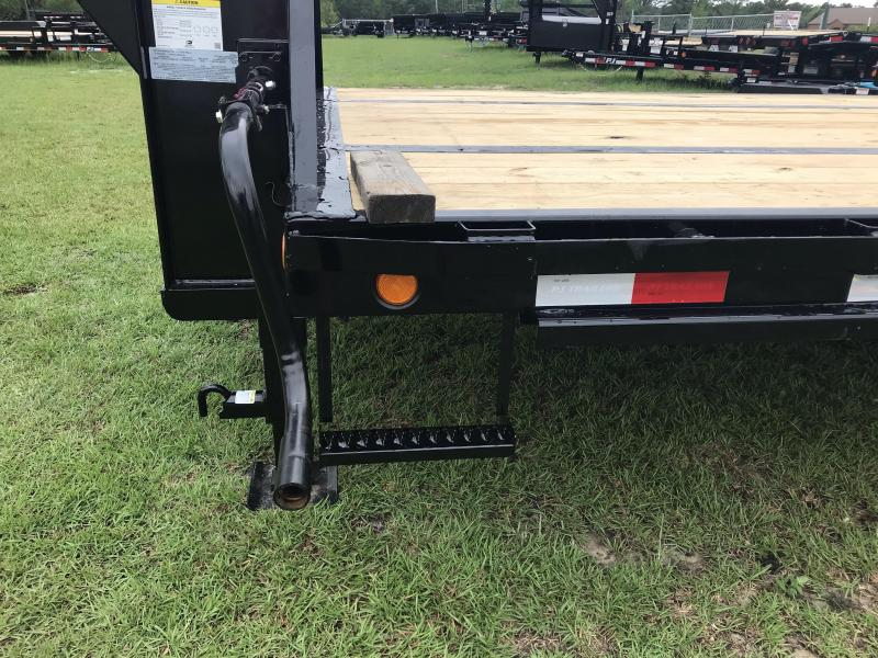 "2020 PJ Trailers 102""x40' LD Low-pro Flat Deck with Duals Equipment Trailer"