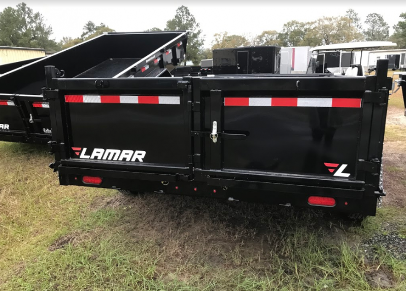 2018 Lamar Trailers 83x14 Low-Pro 14k Dump Trailer