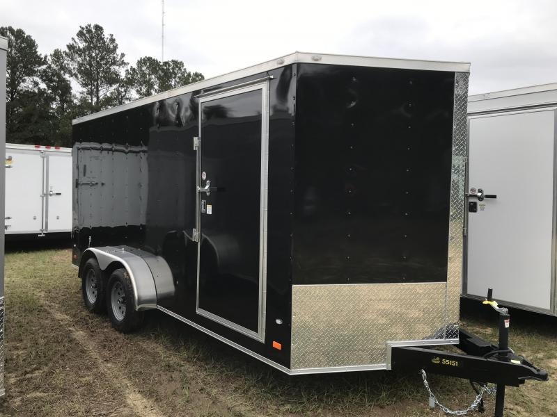 2020 Covered Wagon Trailers 7x16TA BARN DOORS Goldmine Enclosed Cargo Trailer