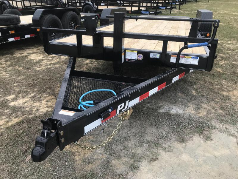 2020 PJ Trailers 83x20 Channel-TILT Equipment Trailer