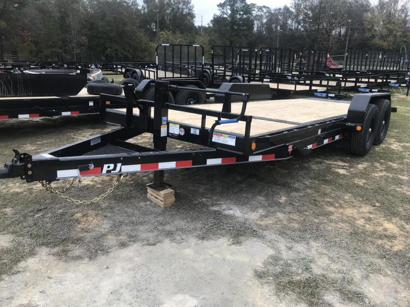 2020 PJ Trailers 83x20 Channel-TILT Equipment Trailer