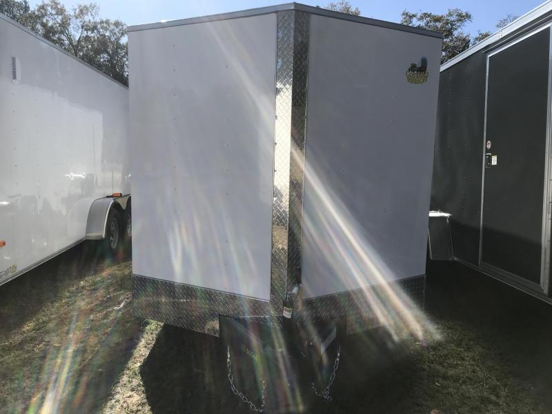 2020 Covered Wagon Trailers 7x16TA S.S. Enclosed Cargo Trailer