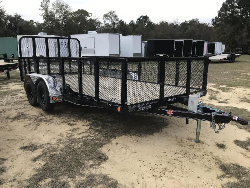 2020 PJ Trailers 83x16 UL w/ 2ft sides Utility Trailer