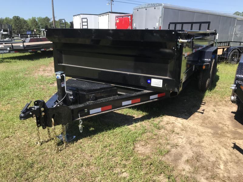 2019 Iron Bull 83x14DT LowPro Dump Trailer