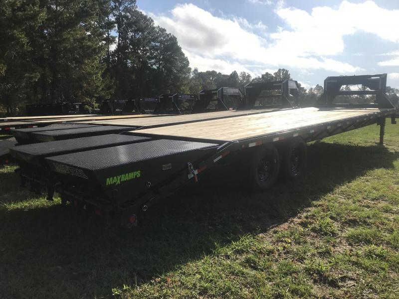 2020 Load Trail 102 x 30TA Heavy Duty Gooseneck w/ MAX RAMPS