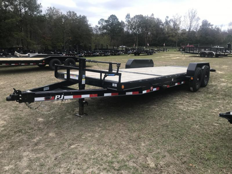 "2020 PJ Trailers 83""x22' 6in Channel-TILT Equipment Trailer"