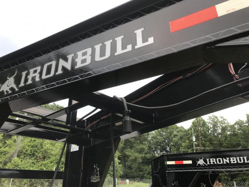 2018 Iron Bull 102x40 Gooseneck ELEC / HYD DISC BRAKES