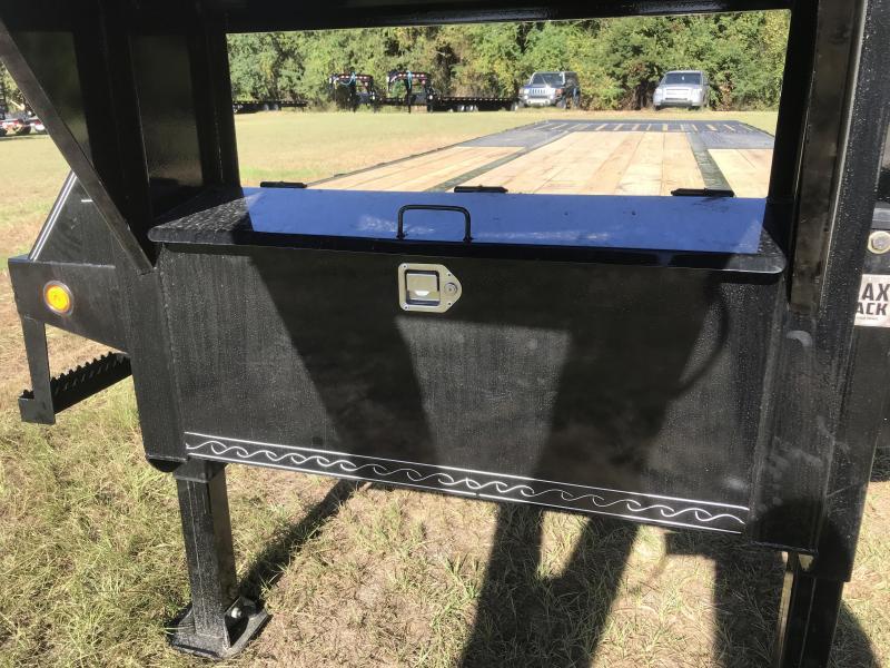 2020 Load Trail 102x30 Low-Pro Gooseneck w/Hyd. Dove Equipment Trailer