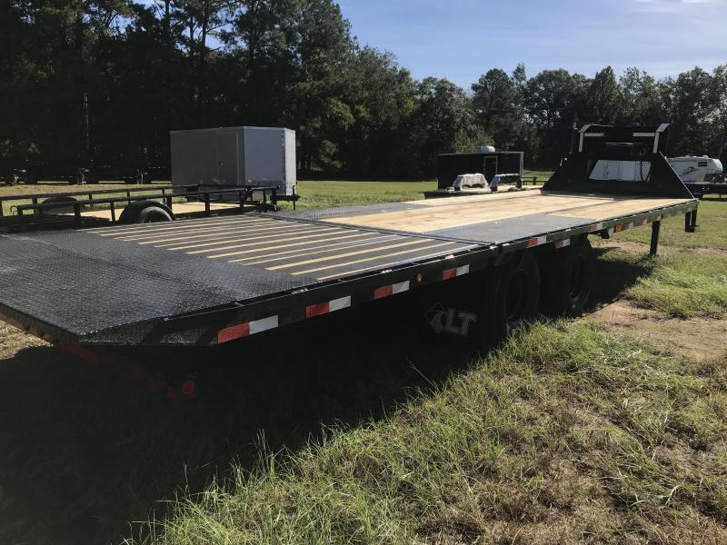 2020 Load Trail 102x30 Low-Pro Gooseneck w/Hyd. Dove Equipment Trailer