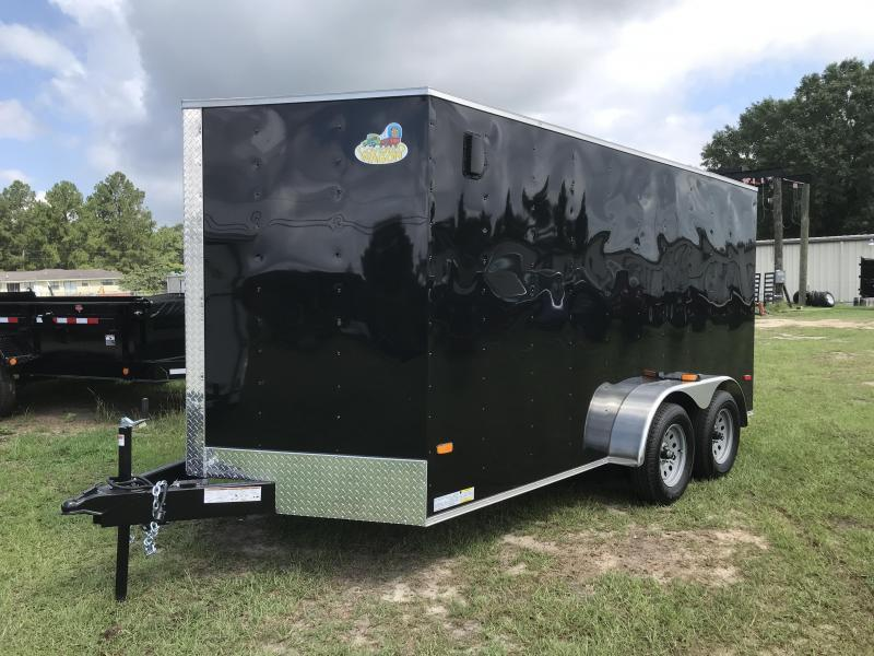 2020 Covered Wagon Trailers 7x14TA XTRA HEIGHT Enclosed Cargo Trailer