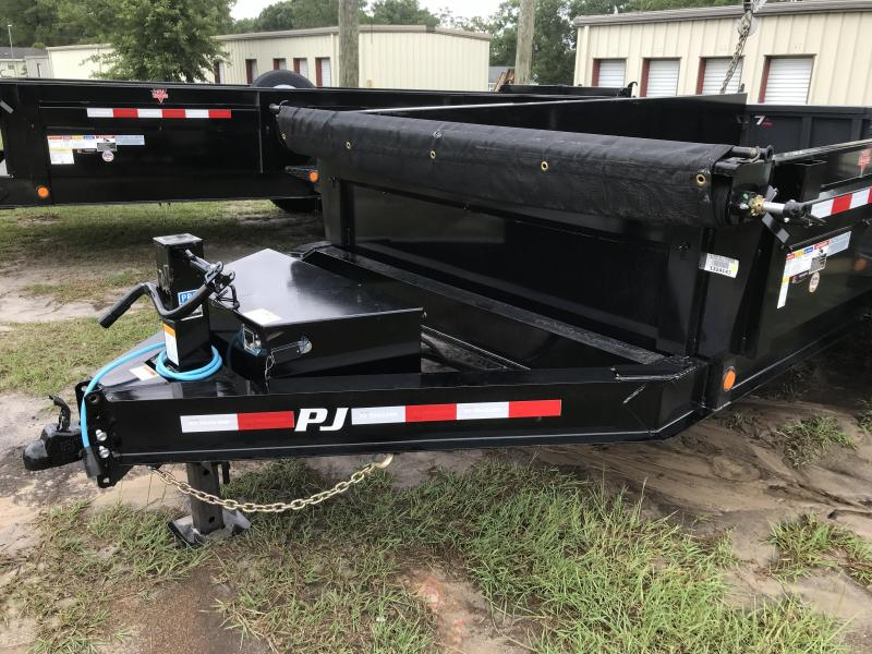 2020 PJ Trailers 83x14 DL Low Pro w/ 14ply G rated tires Dump Trailer