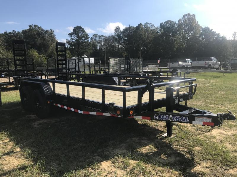 2020 Load Trail 83X18TA Car Hauler w/ Side Rails Equipment Trailer