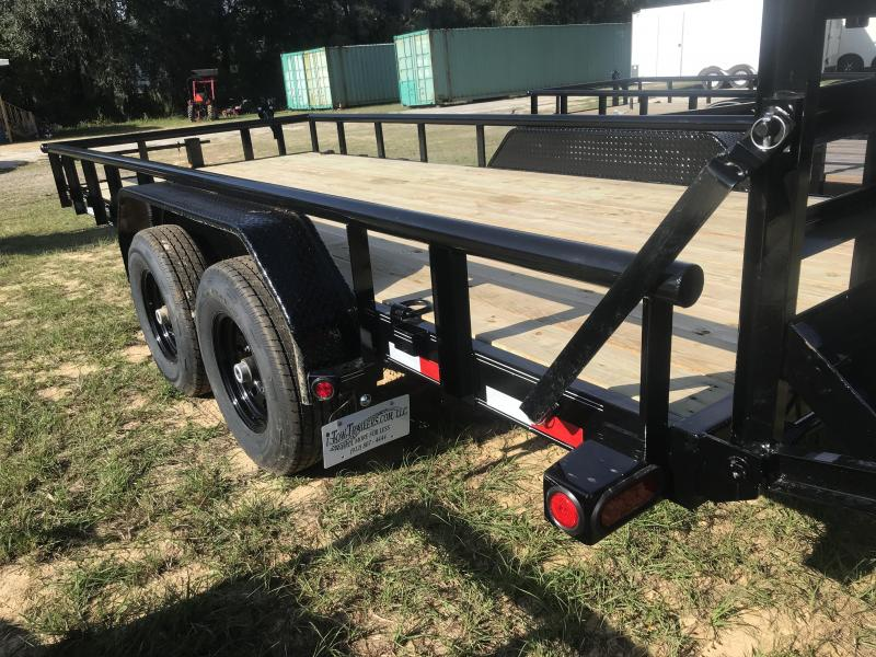 2020 Load Trail 83X18TA Car Hauler w/ Side Rails Equipment Trailer