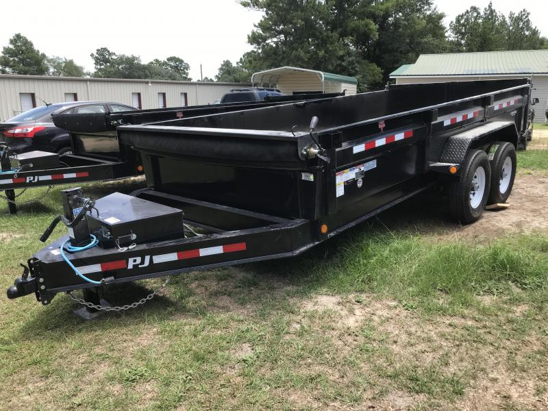 2020 PJ Trailers 83x16 DL w/ 14ply G tires Dump Trailer
