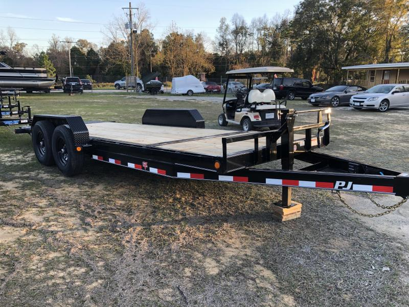 "2020 PJ Trailers 83x20 6"" Channel TILT Equipment Trailer"