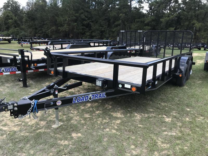2020 Load Trail 83x18 Carhauler w/Side Rails Equipment Trailer