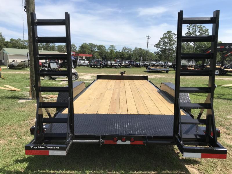 2019 Top Hat Trailers 83x18 Equipment Carrier Equipment Trailer