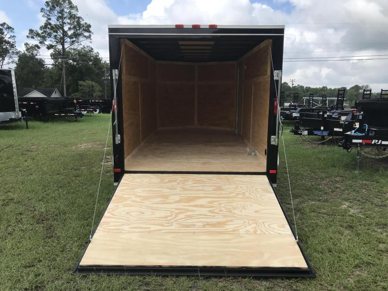 2020 Covered Wagon Trailers 7x14TA S.S. Enclosed Cargo Trailer