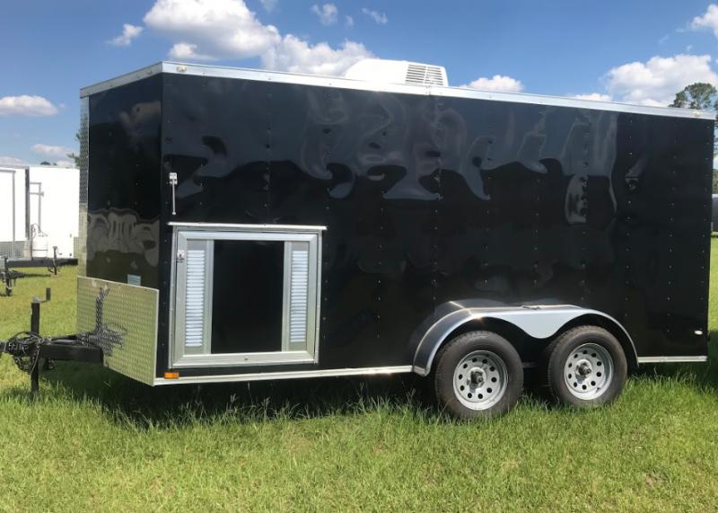 2018 Diamond Cargo 7x14TA SPECIAL EDITION Enclosed Cargo Trailer