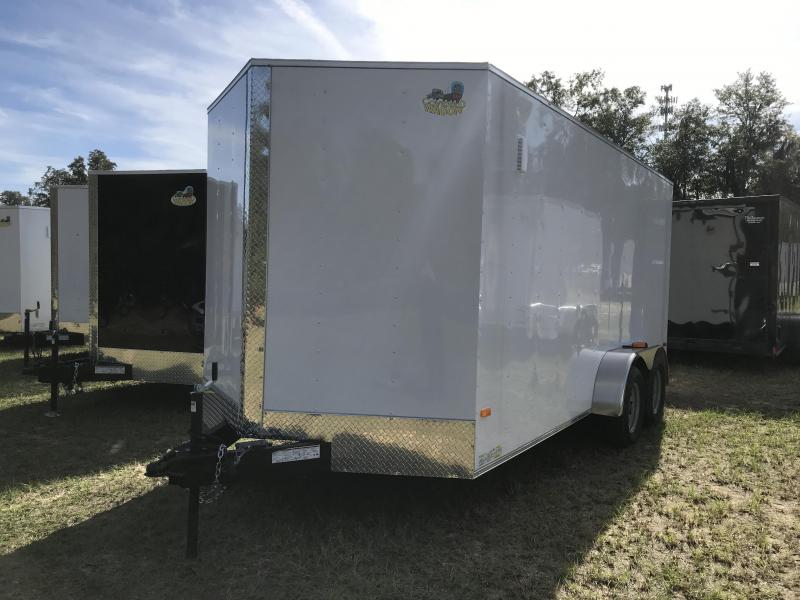 2020 Covered Wagon Trailers 7x16TA S.S. XTRA HEIGHT Enclosed Cargo Trailer