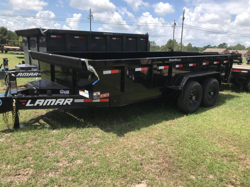 2019 Lamar Trailers 83x16 Low-pro 14k Dump Trailer