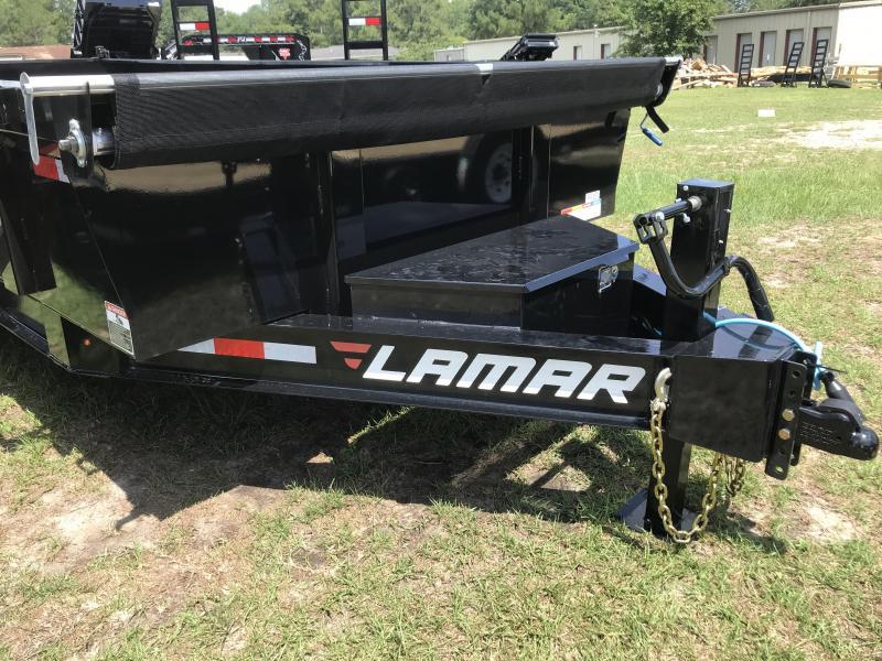 2019 Lamar Trailers 83x16 Low-pro 14k Dump Trailer