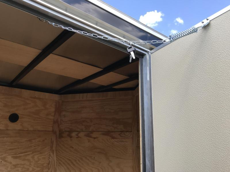 2020 Covered Wagon Trailers 6x12SA Enclosed Cargo Trailer