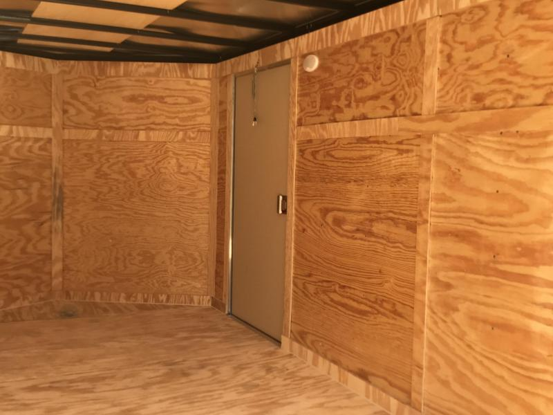 2020 Covered Wagon Trailers 7x16TA S.S. Barn Doors Enclosed Cargo Trailer