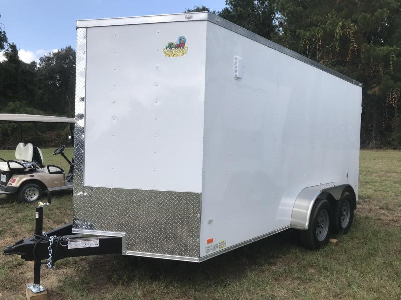 2020 Covered Wagon Trailers 7x14TA Goldmine BARN DOORS Enclosed Cargo Trailer